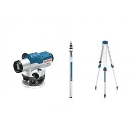 Nivelă optică  Bosch GOL 26 G Professional + BT 160 + GR 500