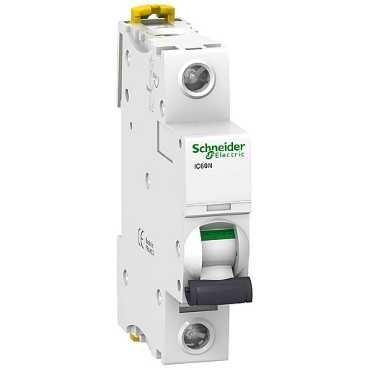 A9F74106 Siguranta automata Schneider Electric iC60N 1P 6A C