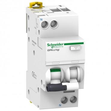 Siguranta automata cu protectie diferentiala iDPNa Vigi 1P+N curba C 30mA 40A Schneider Electric