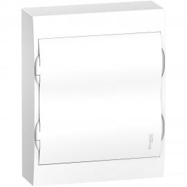 EZ9E212P2S Schneider Electric Easy9 - Surface Enclosure 24 Modules - Plain Door - With E/N Term.Blocks