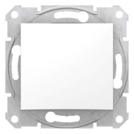 SDN0500121 Schneider Intrerupator simplu 10 AX 250V c.a. Schneider Electric SEDNA, alb
