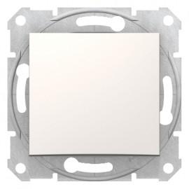 SDN0100123 Schneider Sedna - 1pole switch - 10AX without frame cream