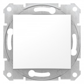 Sedna - intermediate switch - 10AX without frame white