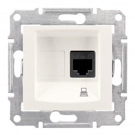 SEDNA Single data outlet cream