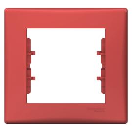 Sedna - 1-gang frame - red