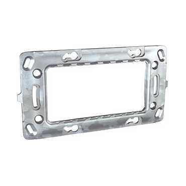Unica - cadru de fixare dreptunghiular metalic - 4 m - 1 poartă
