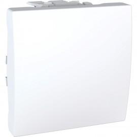 Unica MGU3.205.18 - rocker switch - intermediate - 10 AX 250 VAC - 2 m - white