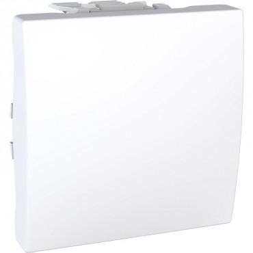 Unica MGU3.203.18 - rocker switch - 2-way - 10 AX 250 VAC - 2 m - white