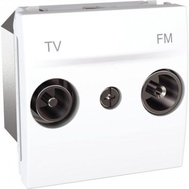 MGU3.451.18 Unica MGU3.451.18 - TV/FM socket - individual socket - white