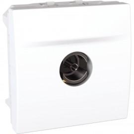 Unica MGU3.467.18 - TV single shield socket - female terminal - white