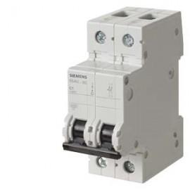 CIRCUIT BREAKER 400V 6KA, 2-POLE, C, 16A, D=70MM  Siemens