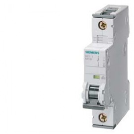 CIRCUIT BREAKER 230/400V 10KA, 1-POLE, C, 10A, D=70MM Siemens