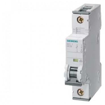 CIRCUIT BREAKER 230/400V 10KA, 1-POLE, C, 10A, D=70MM Siemens
