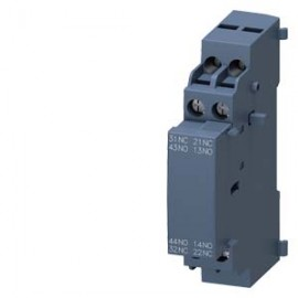 3RV2901-1J Siemens LATERAL AUXILIARY SWITCH 2NO+2NC, SCREW CONNECTION, FOR CIRCUIT-BREAKERS 3RV2