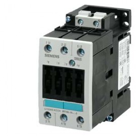 CONTACTOR, AC-3 15 KW/400 V, AC 230 V, 50 HZ, 3-POLE, SIZE S2, SCREW CONNECTION Siemens