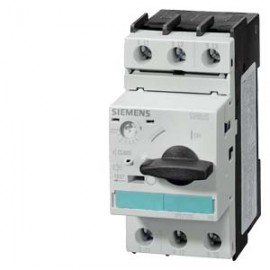 3RV1021-0EA10 SIEMENS CIRCUIT-BREAKER, 0.28...0.40A N-RELEASE 5.2 A, SIZE S0, MOTOR PROTECTION, CLASS 10, SCREW CONNECTION STANDARD BREAKING CAPACITY