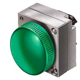 INDICATOR LIGHT WITH CONCENTRIC RINGS ILLUMINABLE WITH HOLDER YELLOW Siemens