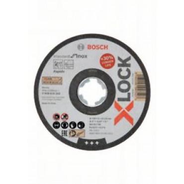 DISC TAIERE INOX  PRINDERE X-LOCK  125x1x22,23 mm pentru tăieturi drepte