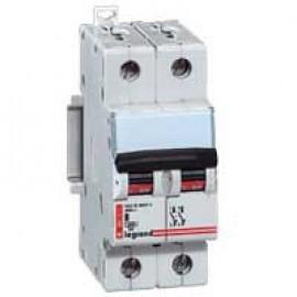 Siguranta automata/ Disjunctor 2P C 40A 6kA Legrand DX 006472