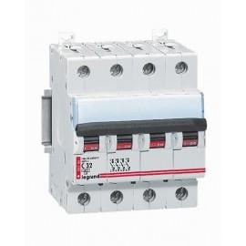 Siguranta automata/ Disjunctor 4P 32A C 6kA Legrand DX 006566