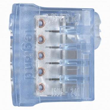 Nylbloc Auto borna albastra 5 conductoare Legrand 034325