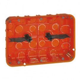 080126 LEGRAND CELIANE Flush mounting box Batibox - depth 50 mm - 213 x 142 mm - multi-material