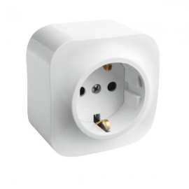 GERMAN STD SOCKET 2P+E FORIX - SURFACE MOUNTING - IP 2X - 16 A - 250 V~ - WHITE
