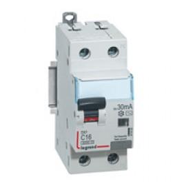 Siguranta automata cu protectie diferentiala 1P+N 16 A Legrand DX3, 6kA, 230 V~, 30mA, Tip AC