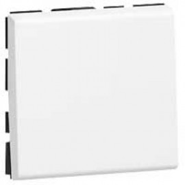 074040 LEGRAND MOSAIC Push-Button Mosaic - 6 A 250 V~ - 2 Modules - White