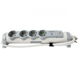 694651 Multi-Outlet Extension For Comfort/Safety - 4x2P+E + Voltage Surge Protector - 1.5 M Cord Legrand 69461