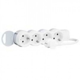 695007 Legrand Multi-outlet extension - 4x2P+E - 3 m cord