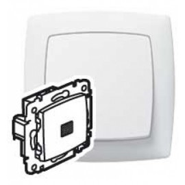 774048 Intrerupator cruce LED Legrand Suno 774048, alb