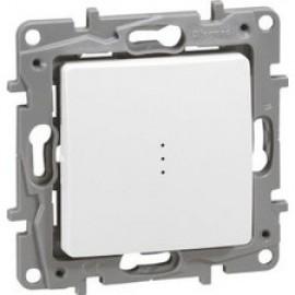 Intrerupator Cap-Scara cu lumina de control 10AX 250V Niloe Legrand, Alb